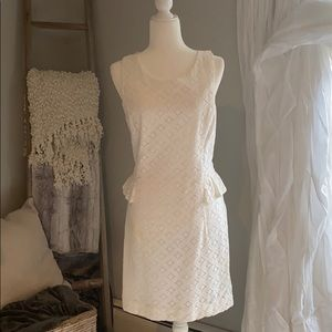 Lily white lace dress